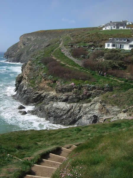 Coast path, Trenance